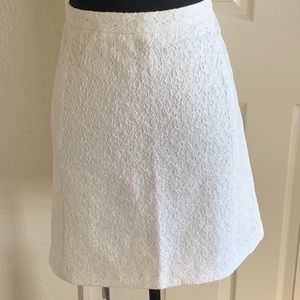 Vince Camuto | Shimmery Lace Skirt